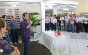 Prefeito Cantelmo Neto anunciou as mudanças em evento na Prefeitura
