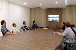 Projeto da nova sede foi apresentado ao prefeito Cantelmo Neto nesta segunda