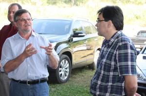 Deputado Assis do Couto e prefeito Cantlemo Neto