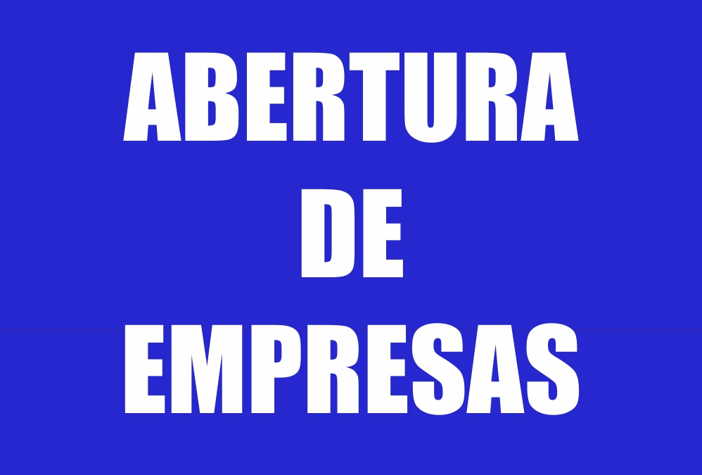 ABERTURA DE EMPRESAS