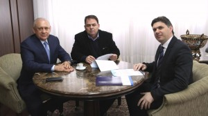 Ademar Traiano, Cleber Fontana e Nelson Leal