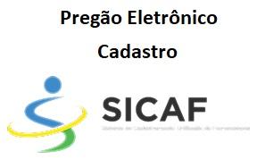 Cadastro do Fornecedor - SICAF