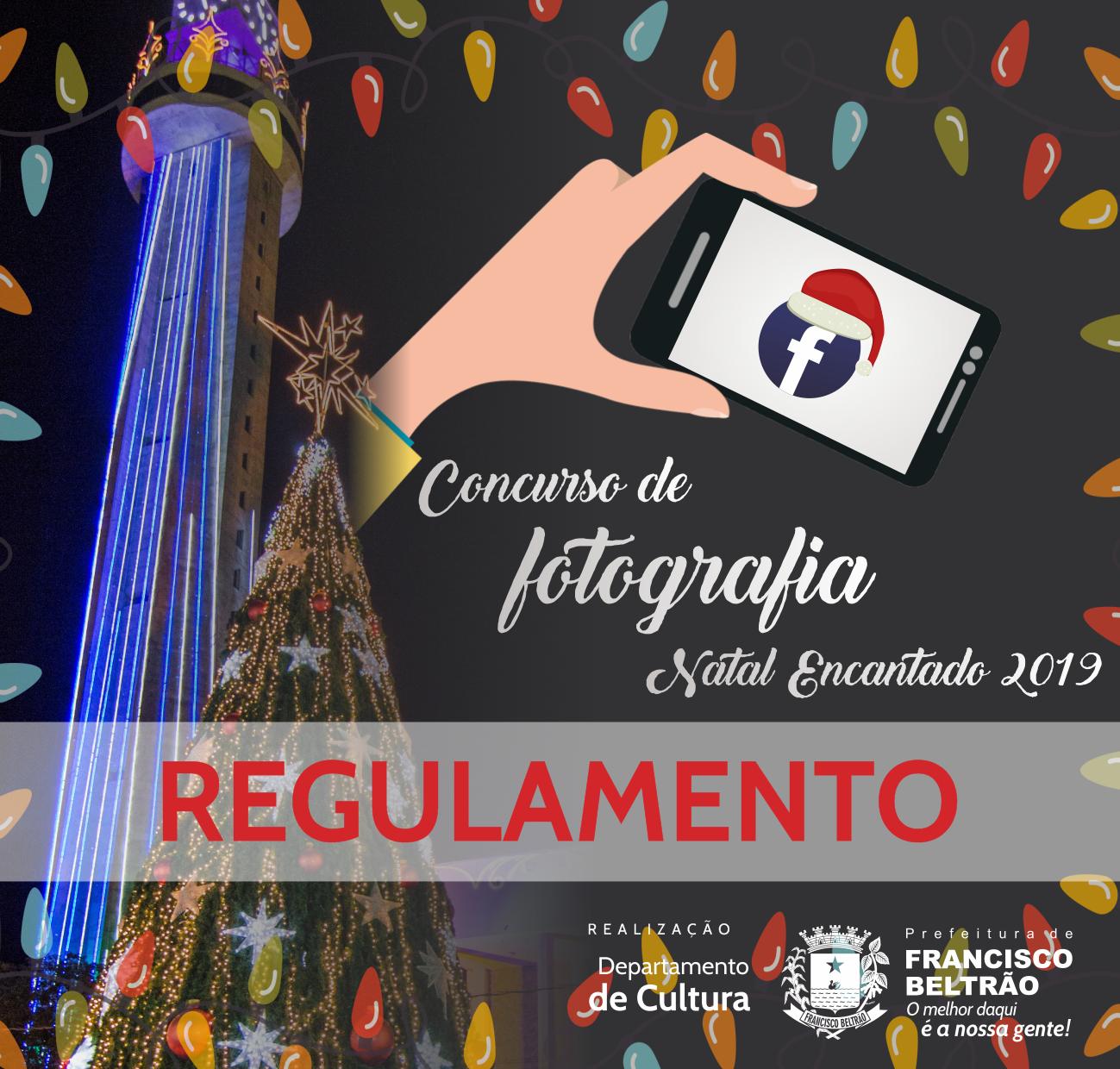 CONCURSO FOTOGRAFIA - NATAL ENCANTADO 2019