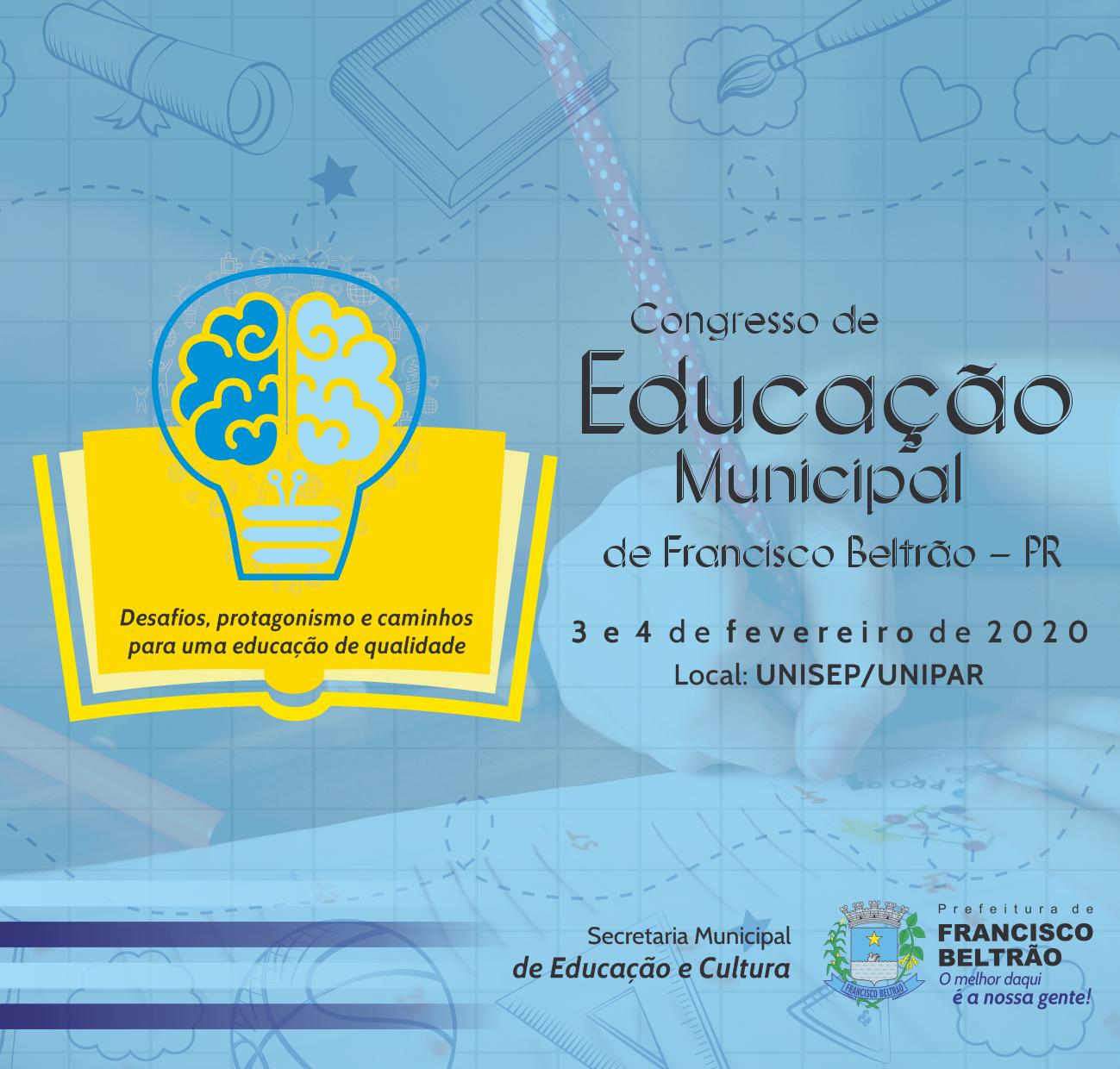 CONGRESSO EDUCAÇÃO - FIXO